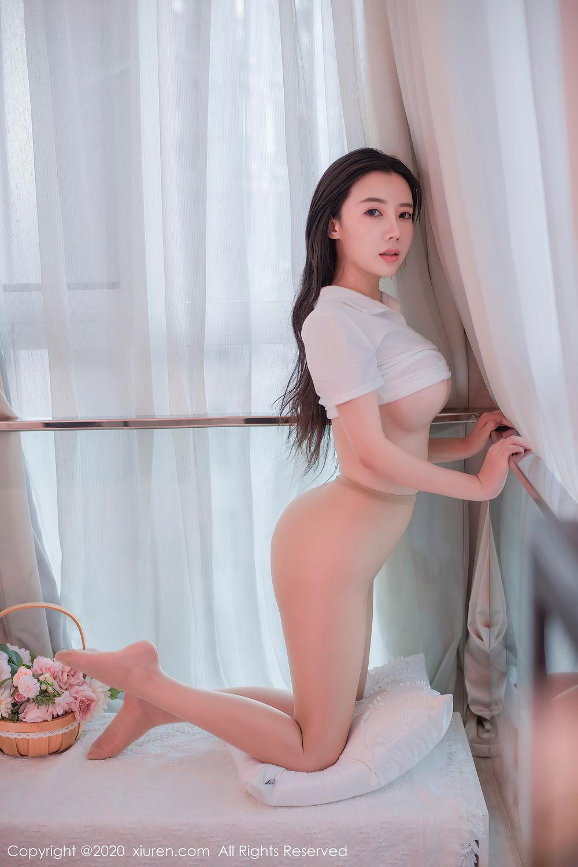 [XiuRen] Vol.2412 Chen Meng Babe 17P, Chen Meng, School Uniform, Tall, Xiuren