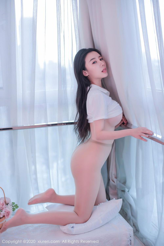 [XiuRen] Vol.2412 Chen Meng Babe 18P, Chen Meng, School Uniform, Tall, Xiuren
