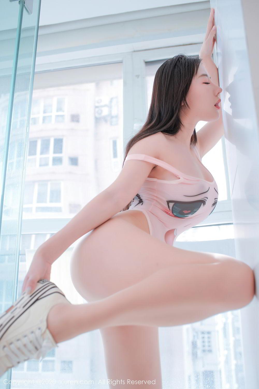 [XiuRen] Vol.2412 Chen Meng Babe 35P, Chen Meng, School Uniform, Tall, Xiuren