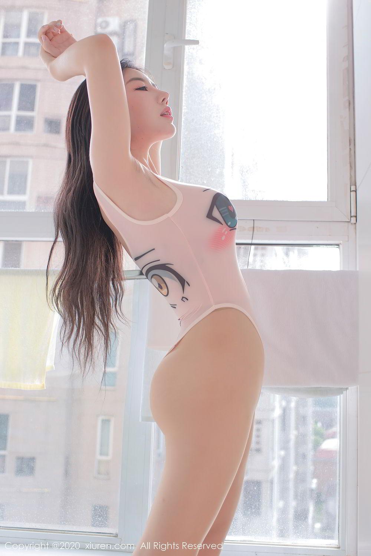 [XiuRen] Vol.2412 Chen Meng Babe 37P, Chen Meng, School Uniform, Tall, Xiuren