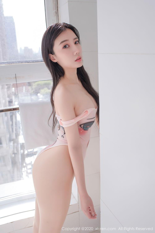 [XiuRen] Vol.2412 Chen Meng Babe 44P, Chen Meng, School Uniform, Tall, Xiuren