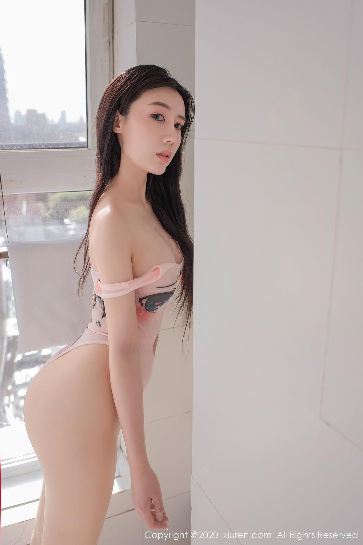 [XiuRen] Vol.2412 Chen Meng Babe 46P, Chen Meng, School Uniform, Tall, Xiuren