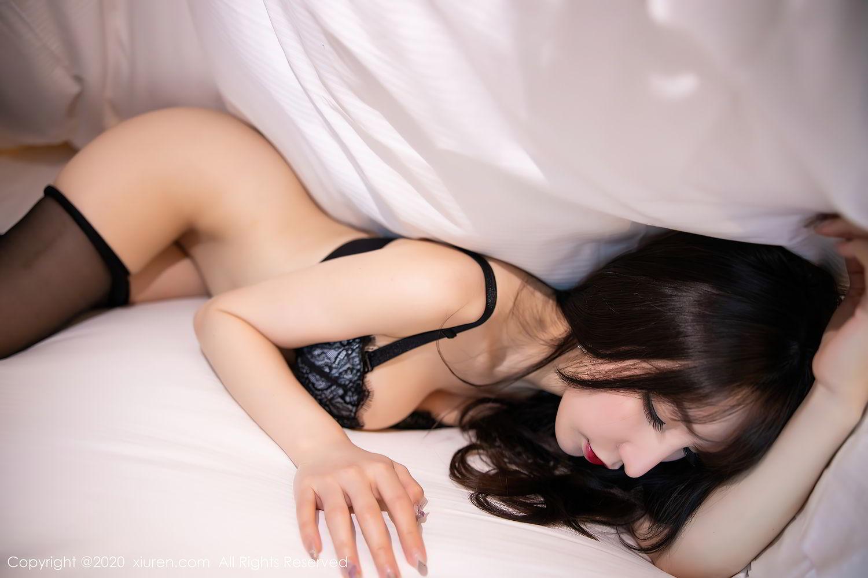 [XiuRen] Vol.2415 Zhou Yu Xi 78P, Black Silk, Underwear, Uniform, Xiuren, Zhou Yu Xi