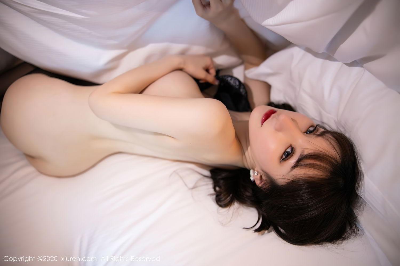 [XiuRen] Vol.2415 Zhou Yu Xi 81P, Black Silk, Underwear, Uniform, Xiuren, Zhou Yu Xi