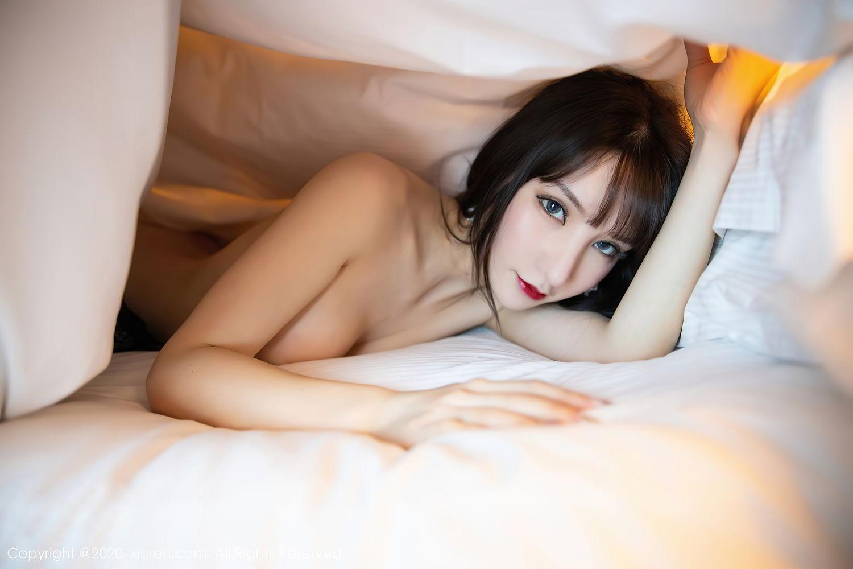 [XiuRen] Vol.2415 Zhou Yu Xi 83P, Black Silk, Underwear, Uniform, Xiuren, Zhou Yu Xi