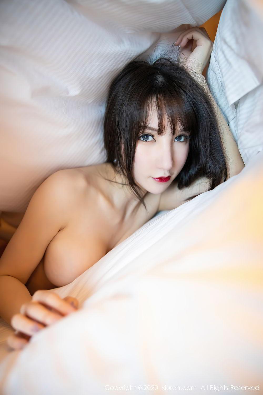 [XiuRen] Vol.2415 Zhou Yu Xi 84P, Black Silk, Underwear, Uniform, Xiuren, Zhou Yu Xi