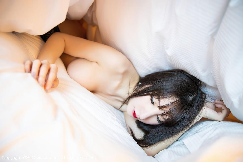 [XiuRen] Vol.2415 Zhou Yu Xi 85P, Black Silk, Underwear, Uniform, Xiuren, Zhou Yu Xi