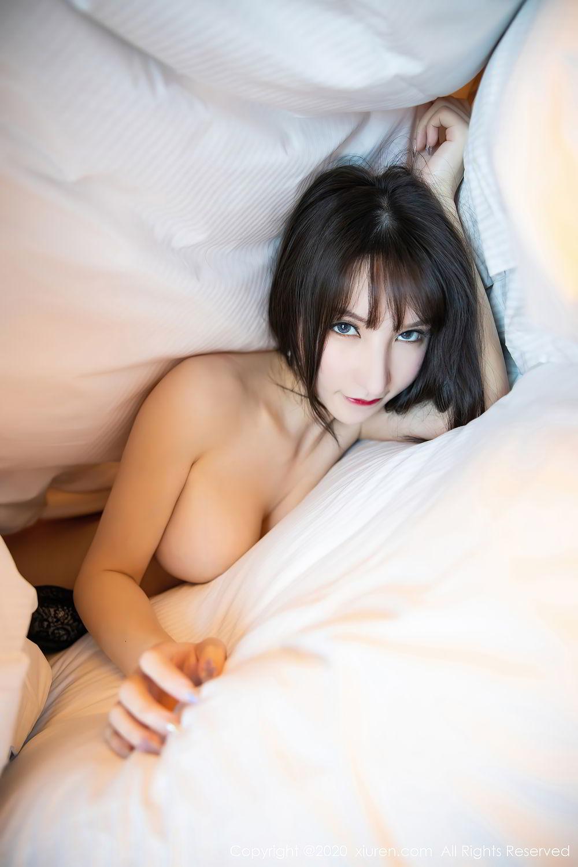 [XiuRen] Vol.2415 Zhou Yu Xi 86P, Black Silk, Underwear, Uniform, Xiuren, Zhou Yu Xi