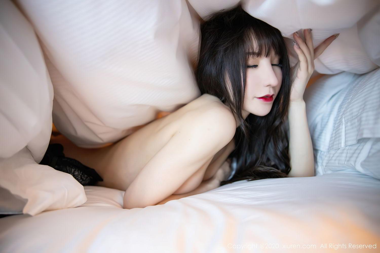 [XiuRen] Vol.2415 Zhou Yu Xi 88P, Black Silk, Underwear, Uniform, Xiuren, Zhou Yu Xi