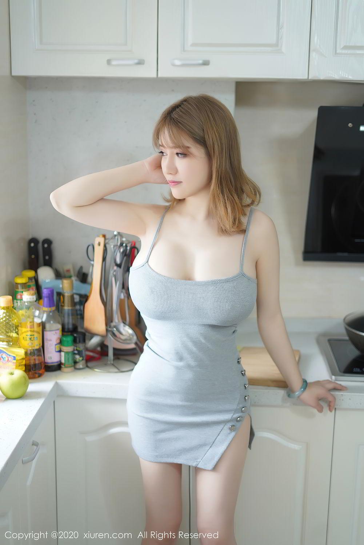 [XiuRen] Vol.2416 Ao Jiao Meng Meng 12P, Ao Jiao Meng Meng, Fair Skin, Xiuren