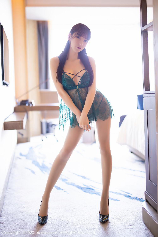 [XiuRen] Vol.2423 Zhou Yu Xi 6P, Tall, Underwear, Xiuren, Zhou Yu Xi