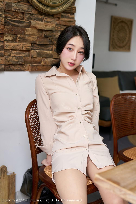 [XiuRen] Vol.2424 Jiu Yue Sheng 10P, Tall, Temperament, Xiao Jiu Yue, Xiuren
