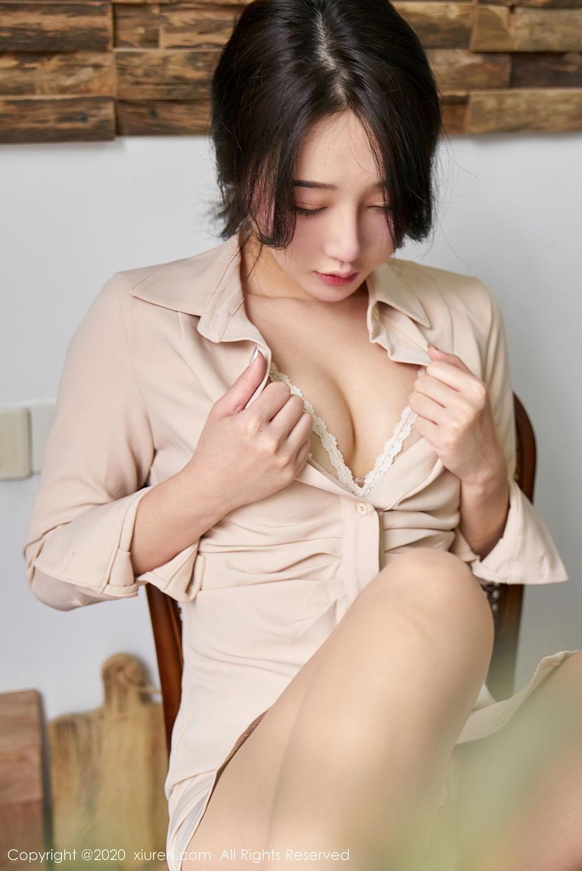 [XiuRen] Vol.2424 Jiu Yue Sheng 14P, Tall, Temperament, Xiao Jiu Yue, Xiuren