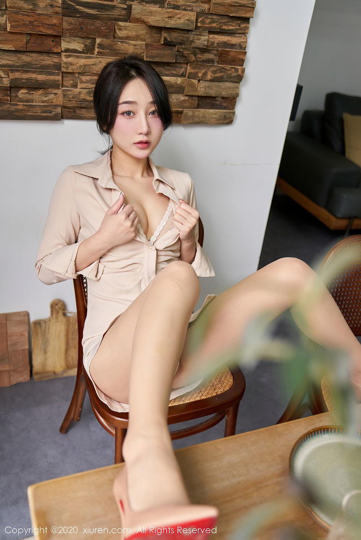 [XiuRen] Vol.2424 Jiu Yue Sheng 16P, Tall, Temperament, Xiao Jiu Yue, Xiuren
