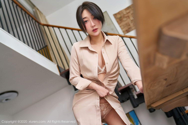 [XiuRen] Vol.2424 Jiu Yue Sheng 25P, Tall, Temperament, Xiao Jiu Yue, Xiuren