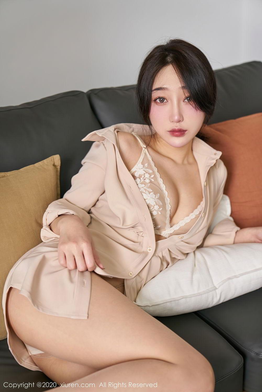 [XiuRen] Vol.2424 Jiu Yue Sheng 2P, Tall, Temperament, Xiao Jiu Yue, Xiuren