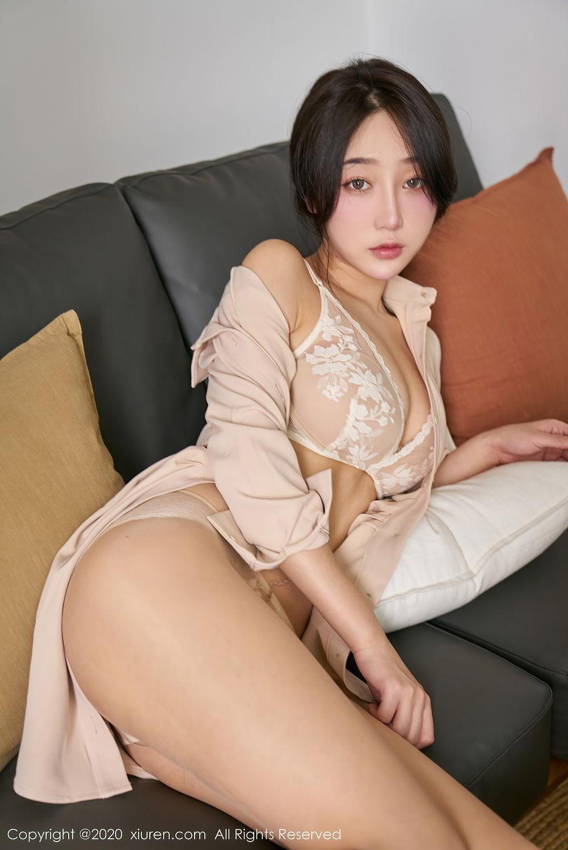 [XiuRen] Vol.2424 Jiu Yue Sheng 35P, Tall, Temperament, Xiao Jiu Yue, Xiuren