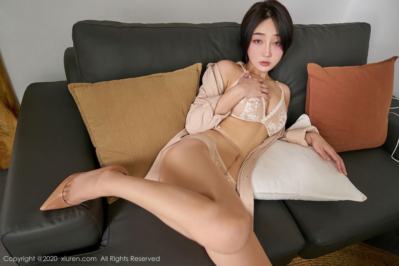 [XiuRen] Vol.2424 Jiu Yue Sheng 43P, Tall, Temperament, Xiao Jiu Yue, Xiuren