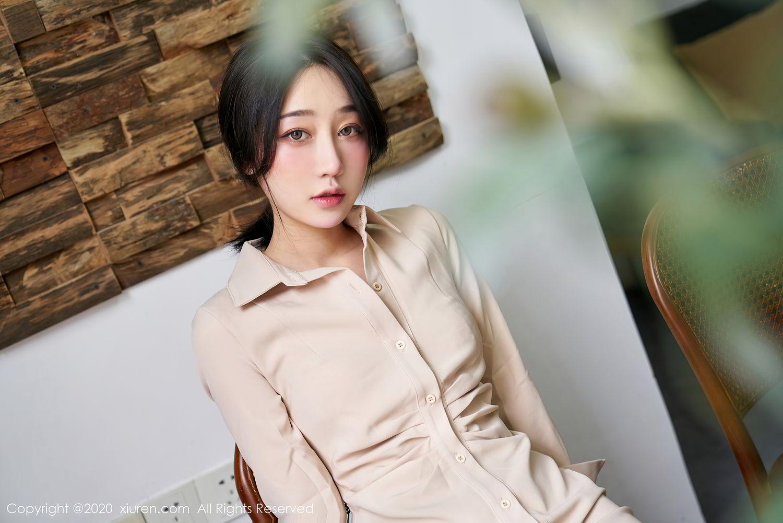 [XiuRen] Vol.2424 Jiu Yue Sheng 7P, Tall, Temperament, Xiao Jiu Yue, Xiuren