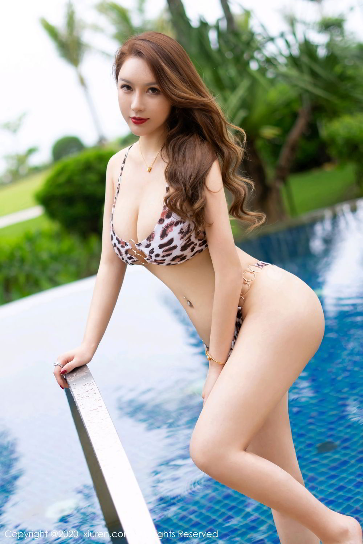 [XiuRen] Vol.2425 Egg Younisi 1P, Bikini, Egg Younisi, Mature, Swim Pool, Xiuren