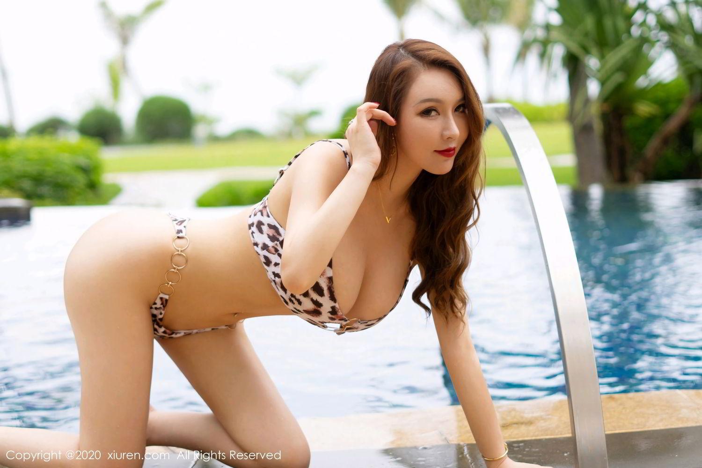 [XiuRen] Vol.2425 Egg Younisi 30P, Bikini, Egg Younisi, Mature, Swim Pool, Xiuren