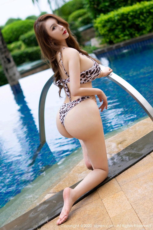 [XiuRen] Vol.2425 Egg Younisi 42P, Bikini, Egg Younisi, Mature, Swim Pool, Xiuren