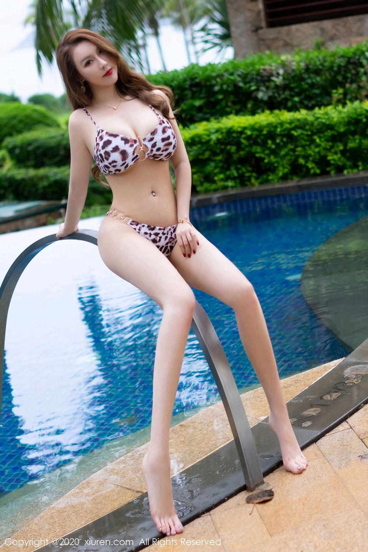[XiuRen] Vol.2425 Egg Younisi 43P, Bikini, Egg Younisi, Mature, Swim Pool, Xiuren