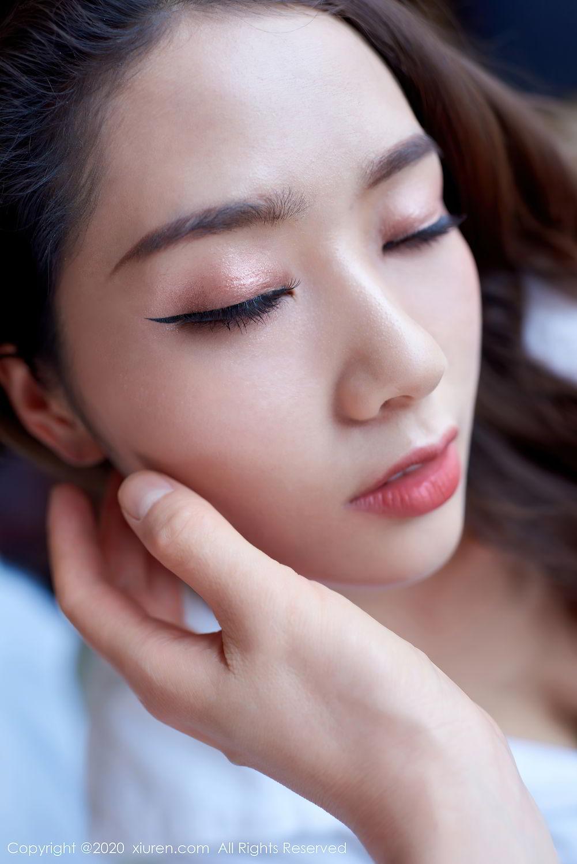 [XiuRen] Vol.2427 Fang Zi Xuan 10P, Black Silk, Mu Qing, Sexy, Underwear, Xiuren