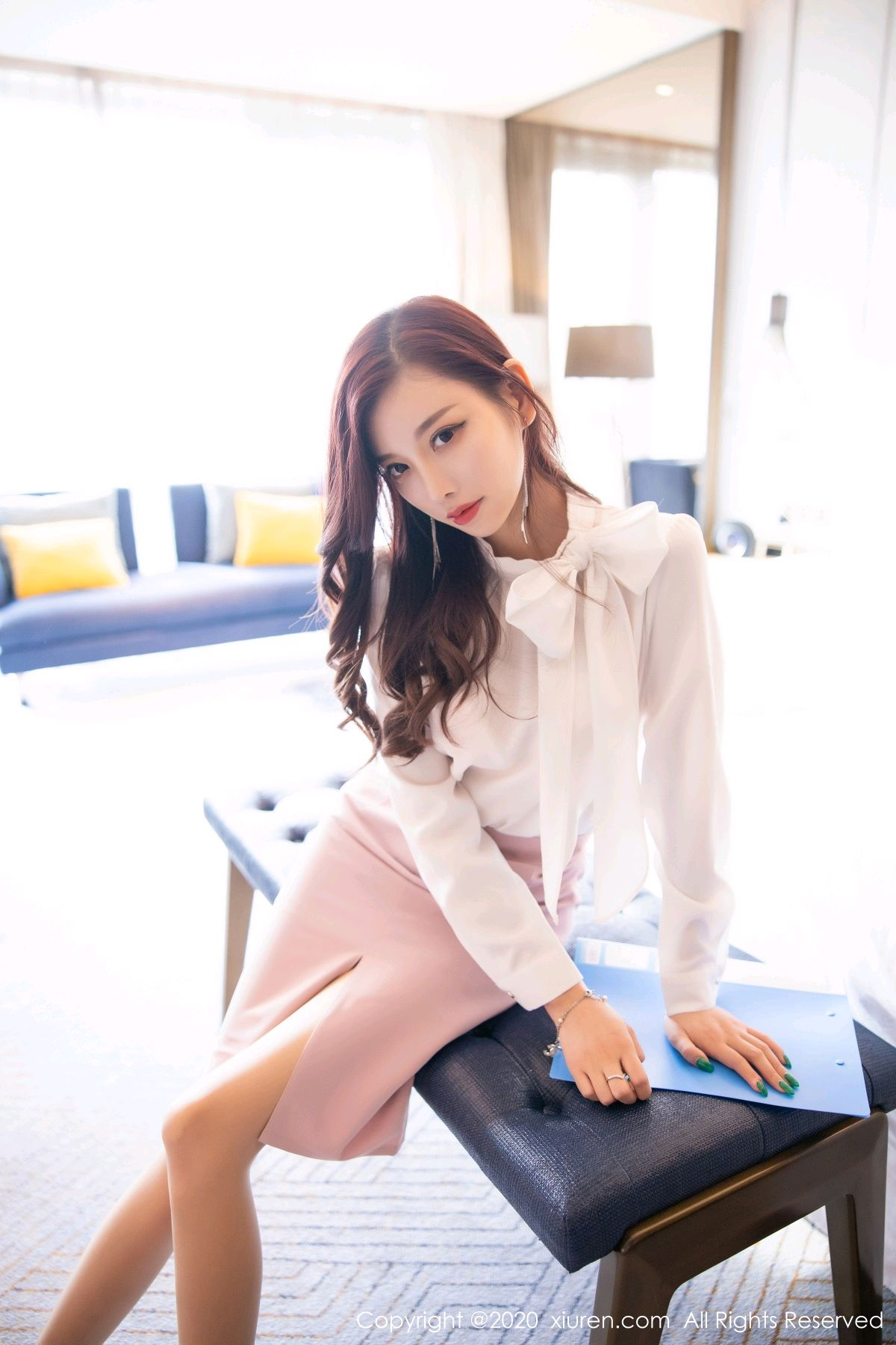 [XiuRen] Vol.2431 Yang Chen Chen 11P, Tall, Underwear, Uniform, Xiuren, Yang Chen Chen