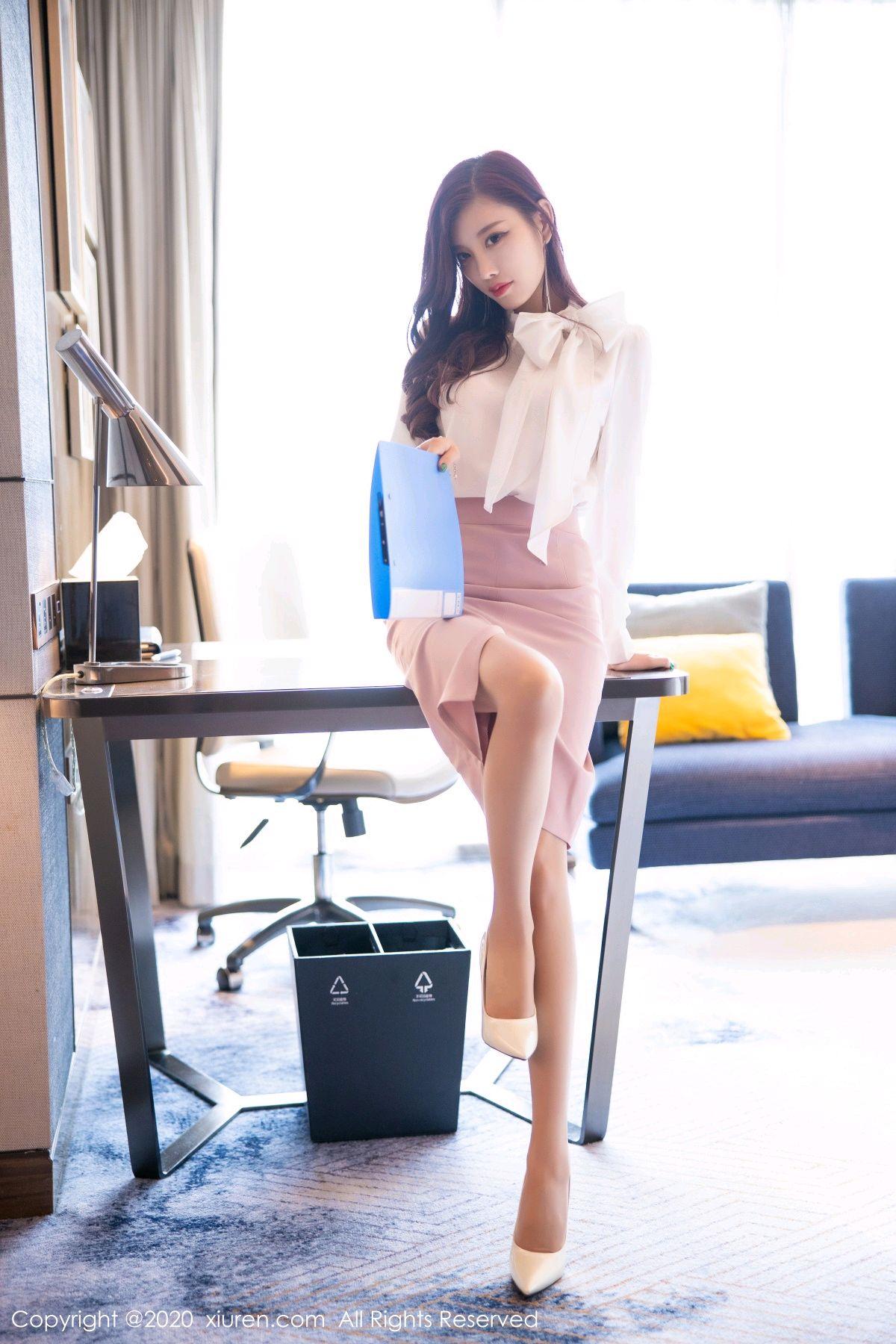 [XiuRen] Vol.2431 Yang Chen Chen 15P, Tall, Underwear, Uniform, Xiuren, Yang Chen Chen