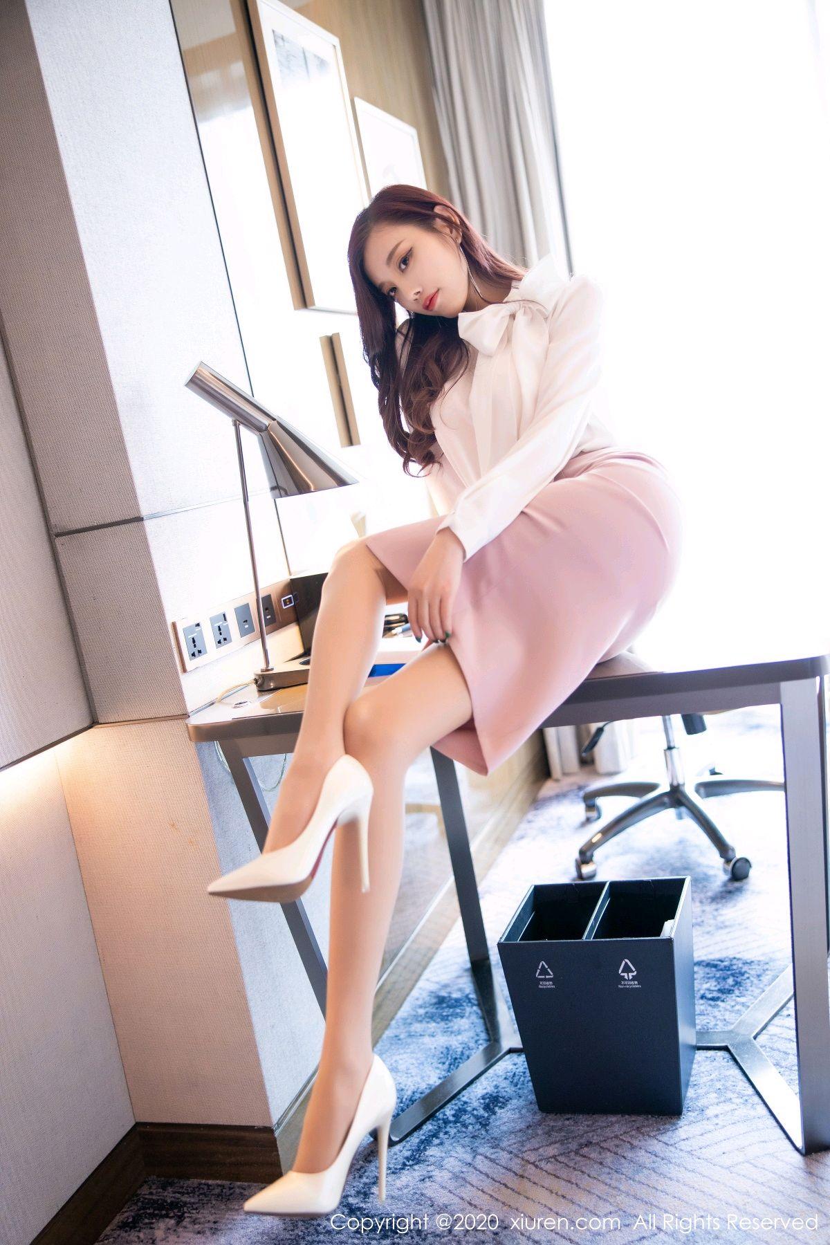 [XiuRen] Vol.2431 Yang Chen Chen 18P, Tall, Underwear, Uniform, Xiuren, Yang Chen Chen