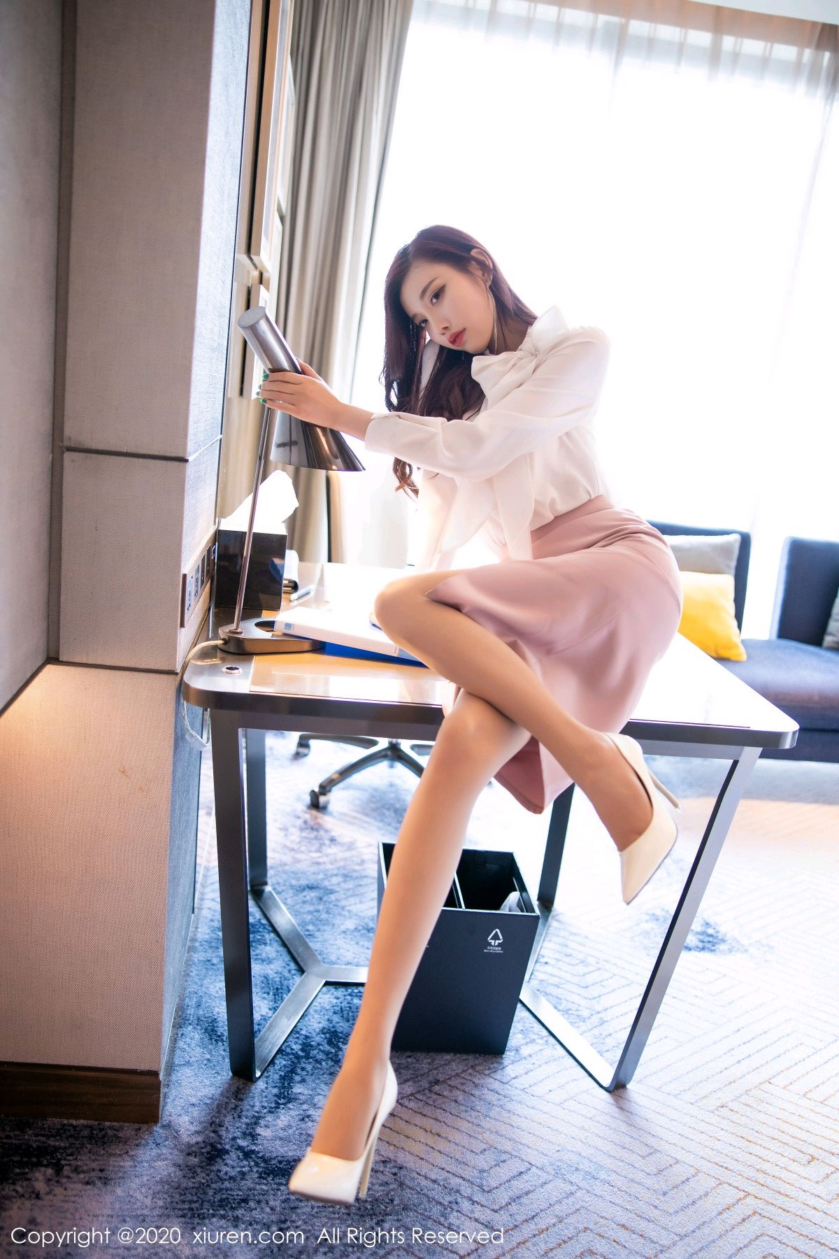 [XiuRen] Vol.2431 Yang Chen Chen 20P, Tall, Underwear, Uniform, Xiuren, Yang Chen Chen