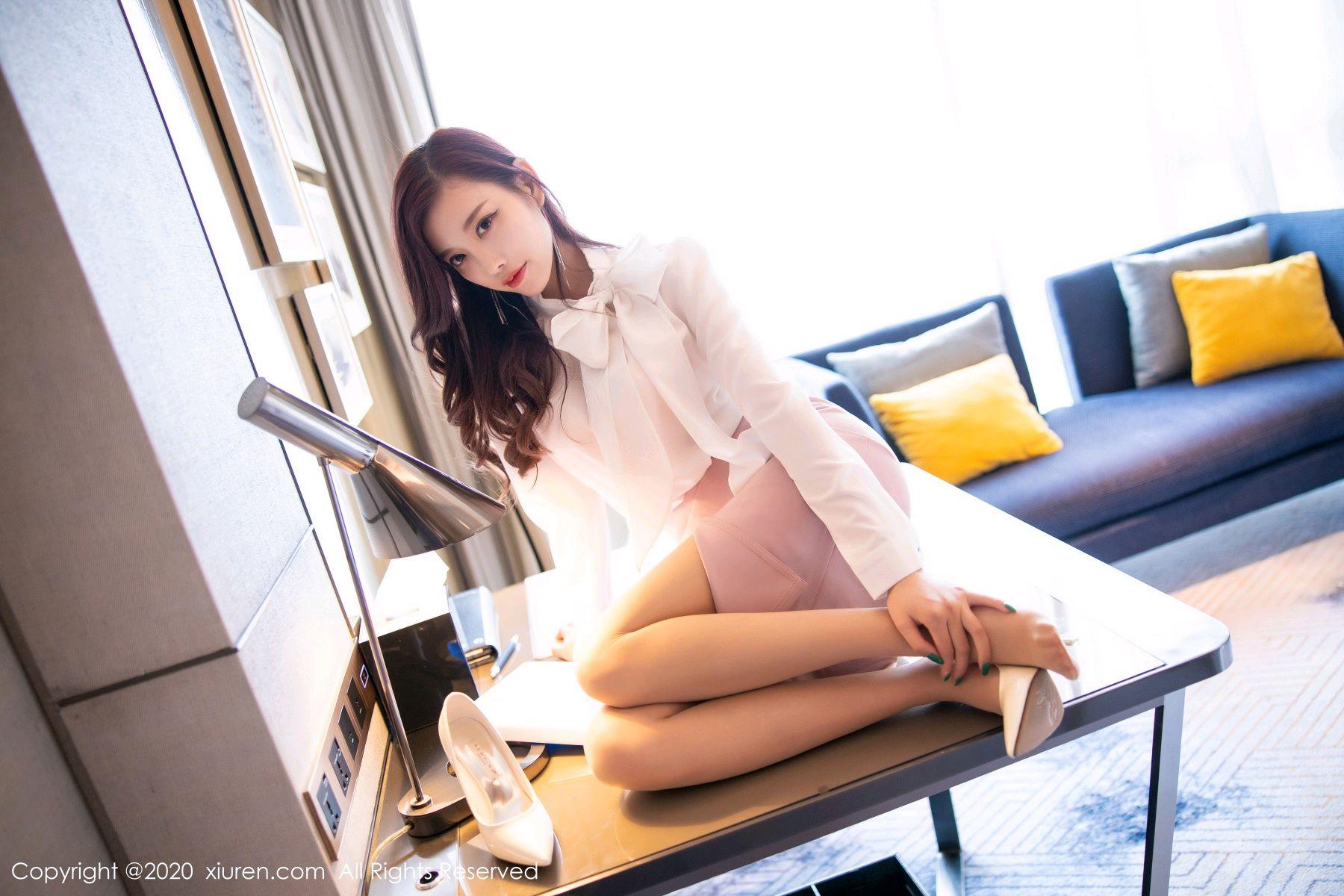 [XiuRen] Vol.2431 Yang Chen Chen 26P, Tall, Underwear, Uniform, Xiuren, Yang Chen Chen