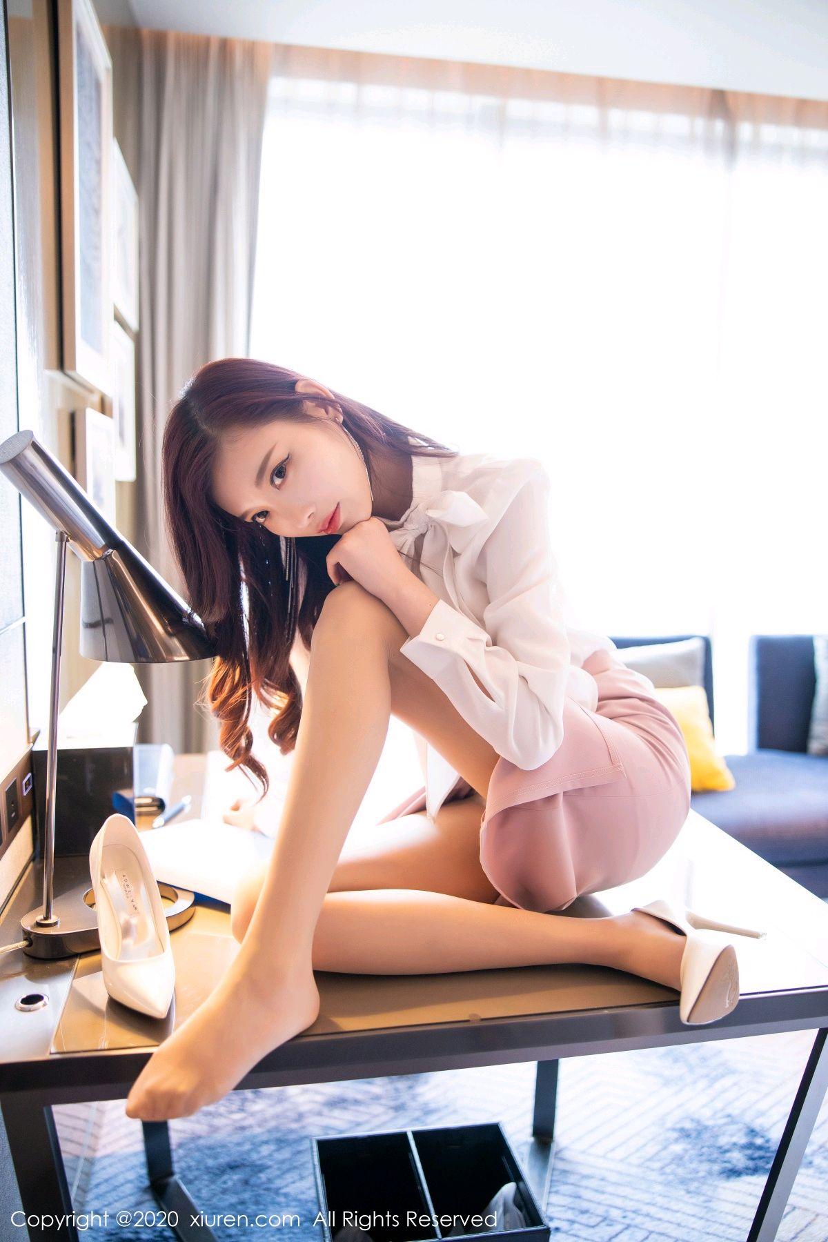 [XiuRen] Vol.2431 Yang Chen Chen 28P, Tall, Underwear, Uniform, Xiuren, Yang Chen Chen