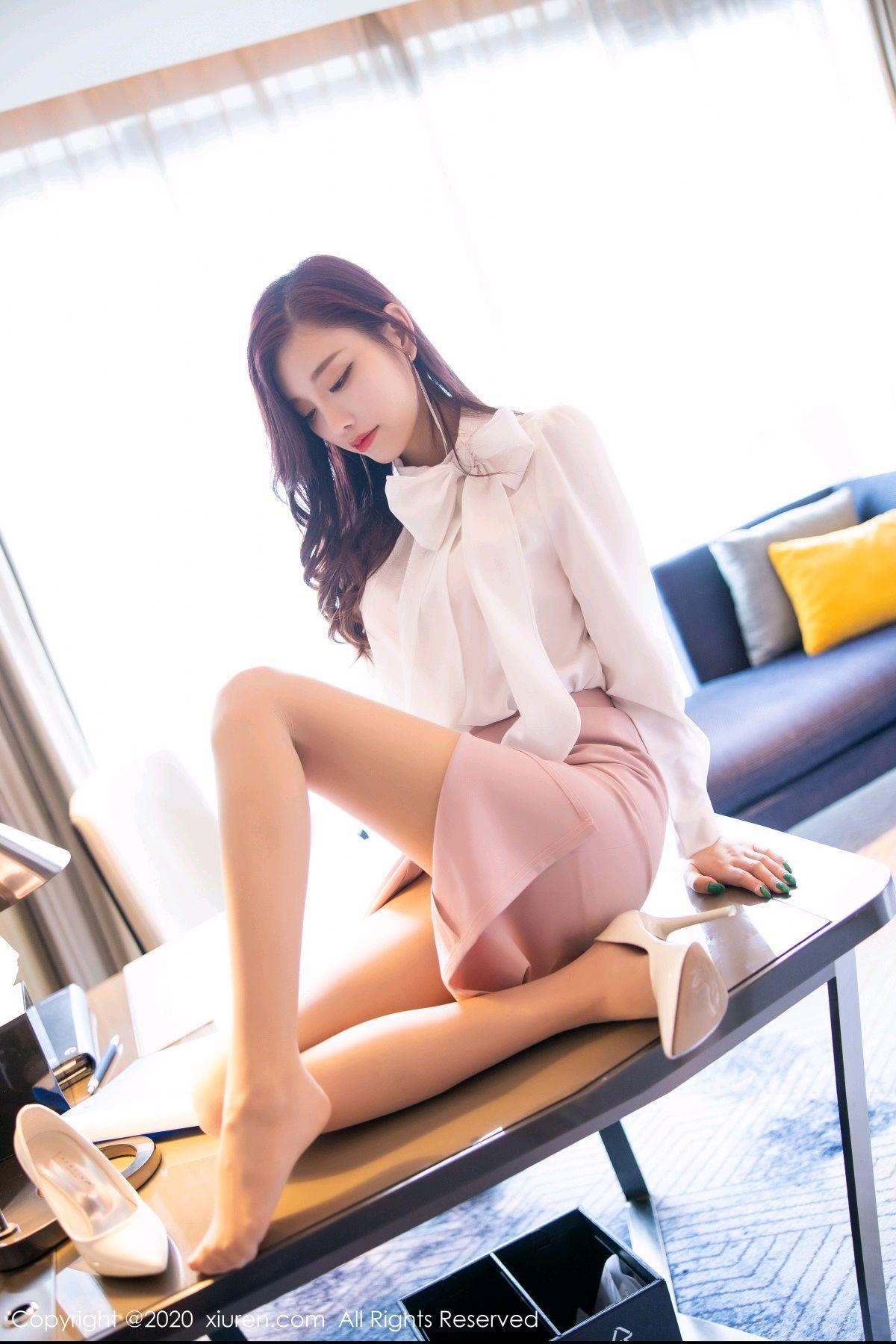 [XiuRen] Vol.2431 Yang Chen Chen 29P, Tall, Underwear, Uniform, Xiuren, Yang Chen Chen