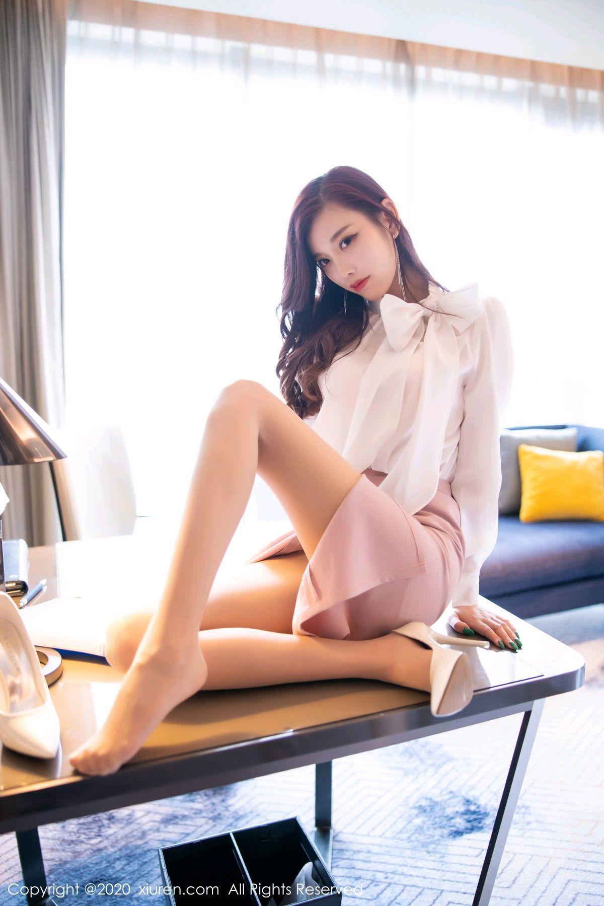 [XiuRen] Vol.2431 Yang Chen Chen 30P, Tall, Underwear, Uniform, Xiuren, Yang Chen Chen