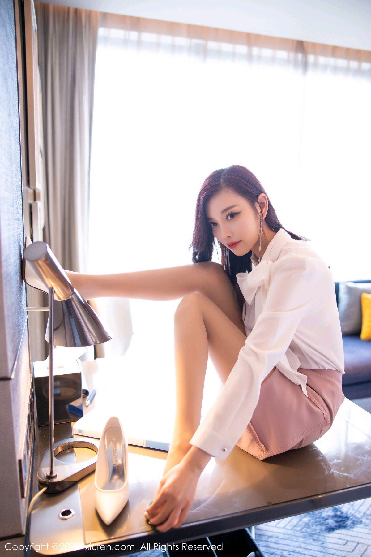 [XiuRen] Vol.2431 Yang Chen Chen 36P, Tall, Underwear, Uniform, Xiuren, Yang Chen Chen