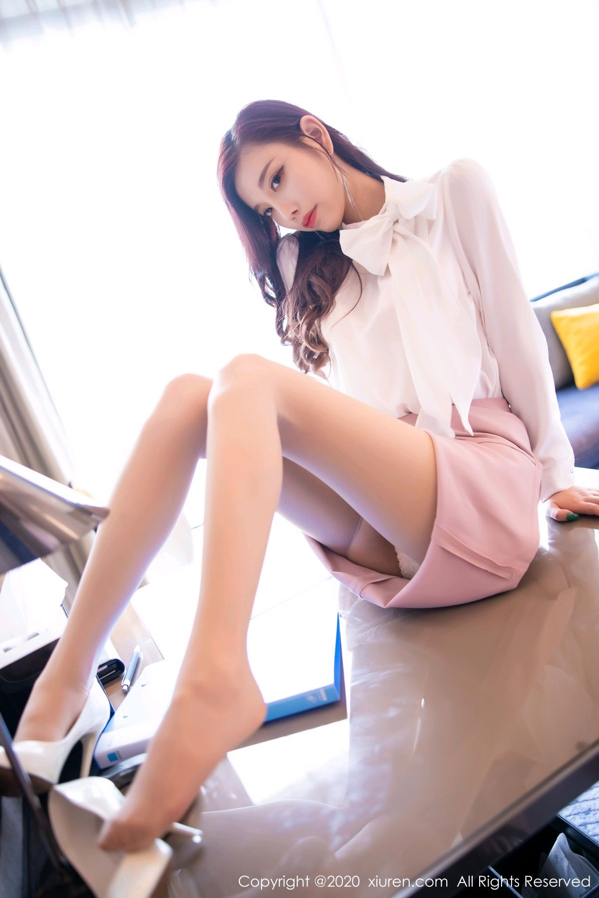 [XiuRen] Vol.2431 Yang Chen Chen 38P, Tall, Underwear, Uniform, Xiuren, Yang Chen Chen
