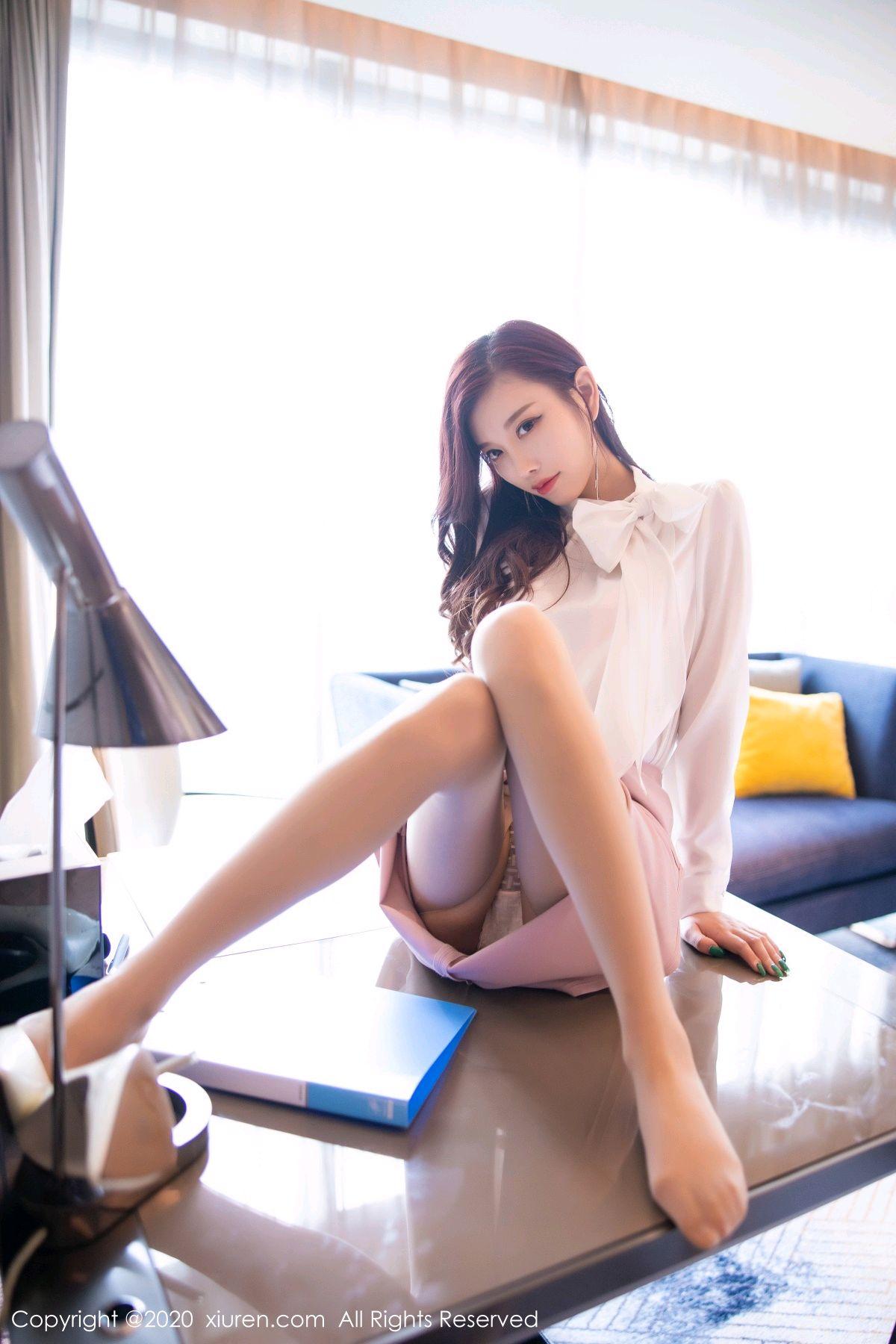 [XiuRen] Vol.2431 Yang Chen Chen 39P, Tall, Underwear, Uniform, Xiuren, Yang Chen Chen