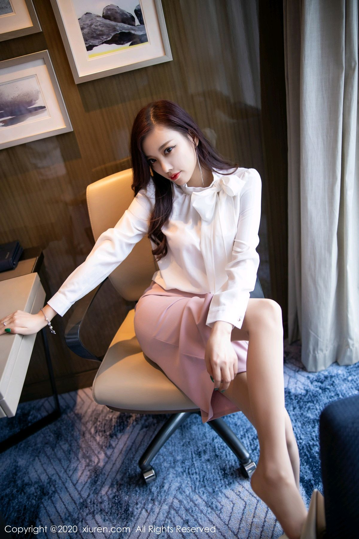 [XiuRen] Vol.2431 Yang Chen Chen 47P, Tall, Underwear, Uniform, Xiuren, Yang Chen Chen