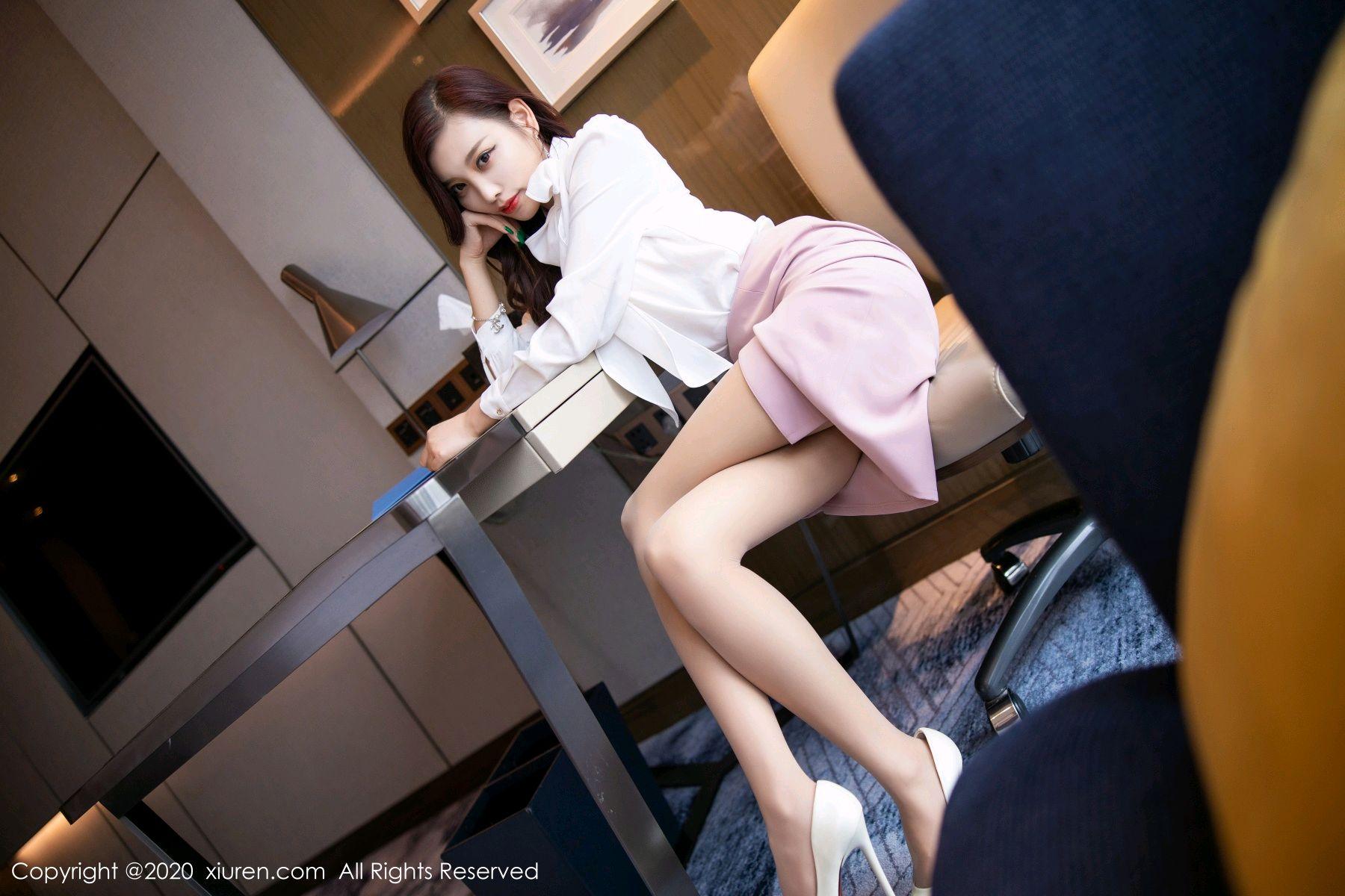 [XiuRen] Vol.2431 Yang Chen Chen 48P, Tall, Underwear, Uniform, Xiuren, Yang Chen Chen