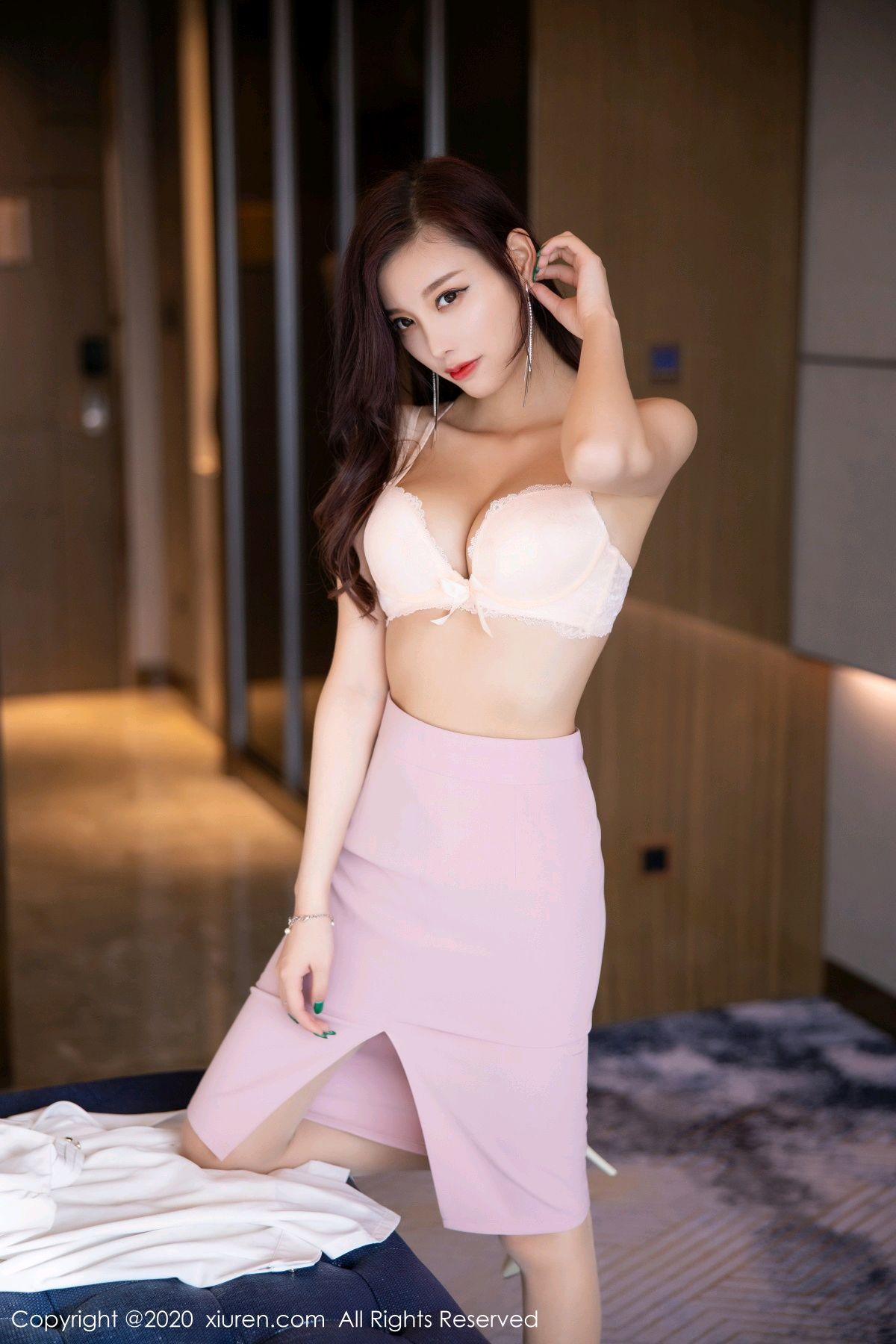 [XiuRen] Vol.2431 Yang Chen Chen 57P, Tall, Underwear, Uniform, Xiuren, Yang Chen Chen