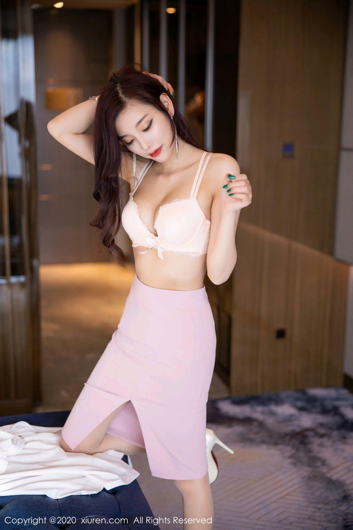 [XiuRen] Vol.2431 Yang Chen Chen 58P, Tall, Underwear, Uniform, Xiuren, Yang Chen Chen
