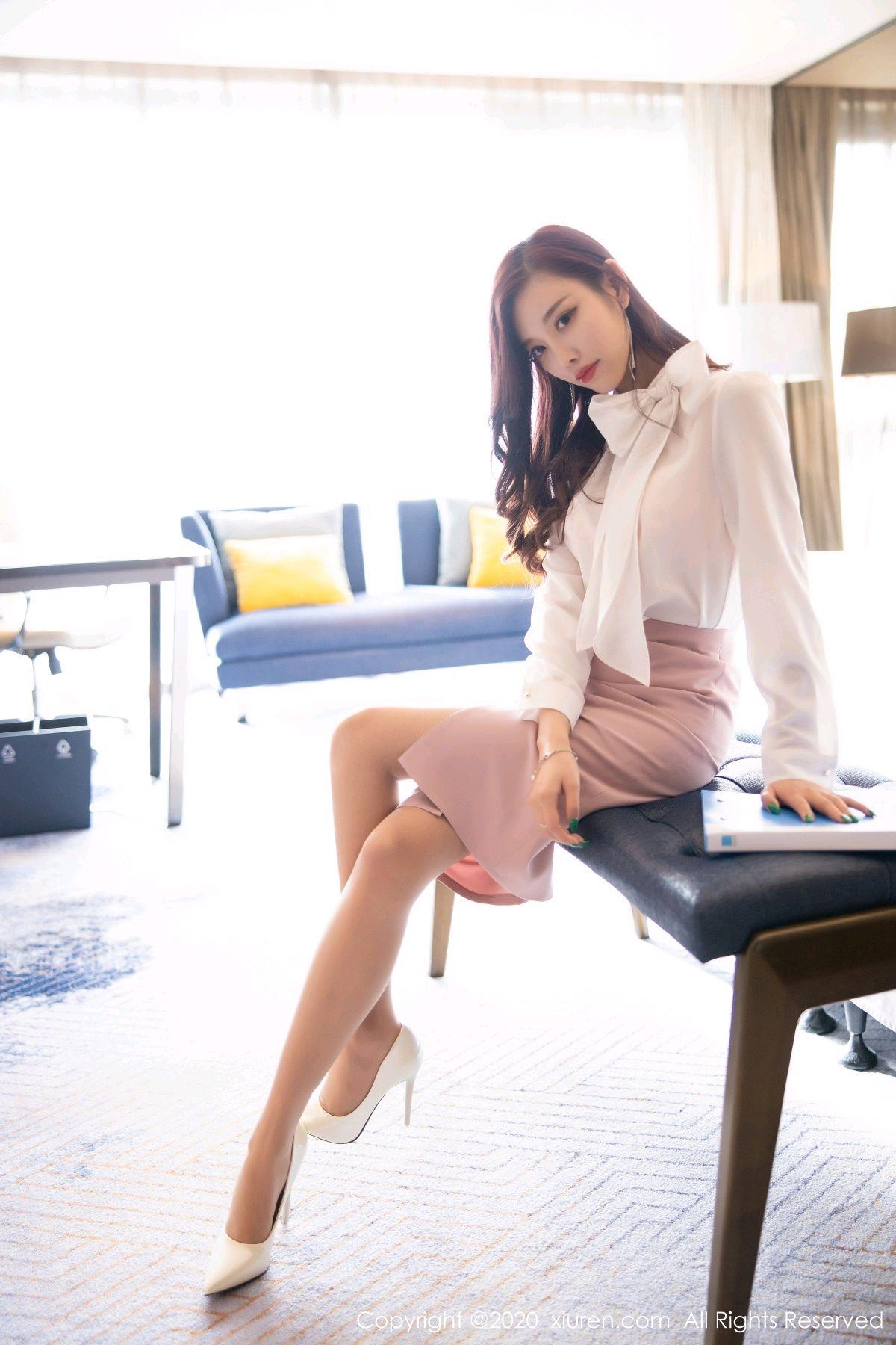 [XiuRen] Vol.2431 Yang Chen Chen 5P, Tall, Underwear, Uniform, Xiuren, Yang Chen Chen