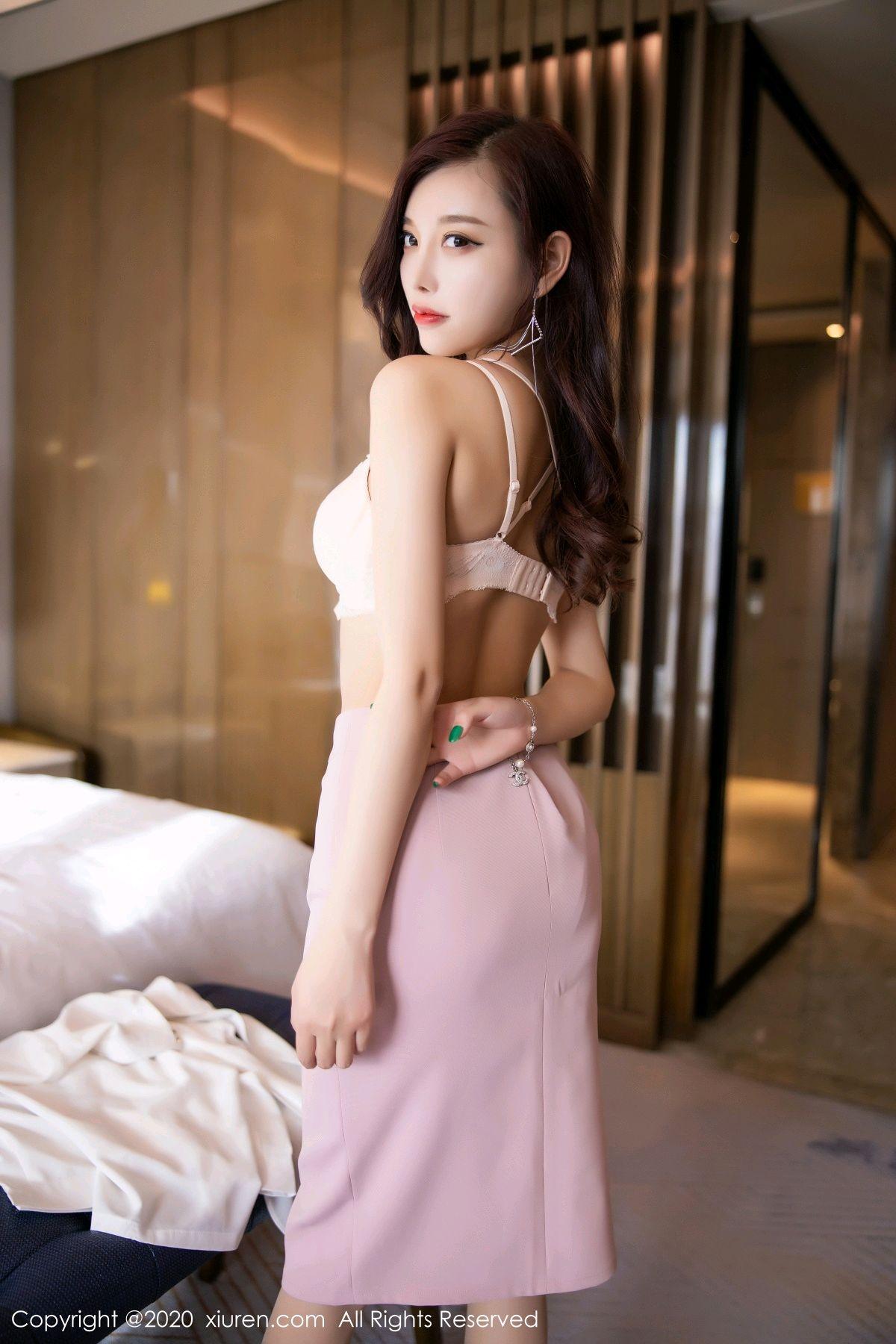 [XiuRen] Vol.2431 Yang Chen Chen 60P, Tall, Underwear, Uniform, Xiuren, Yang Chen Chen