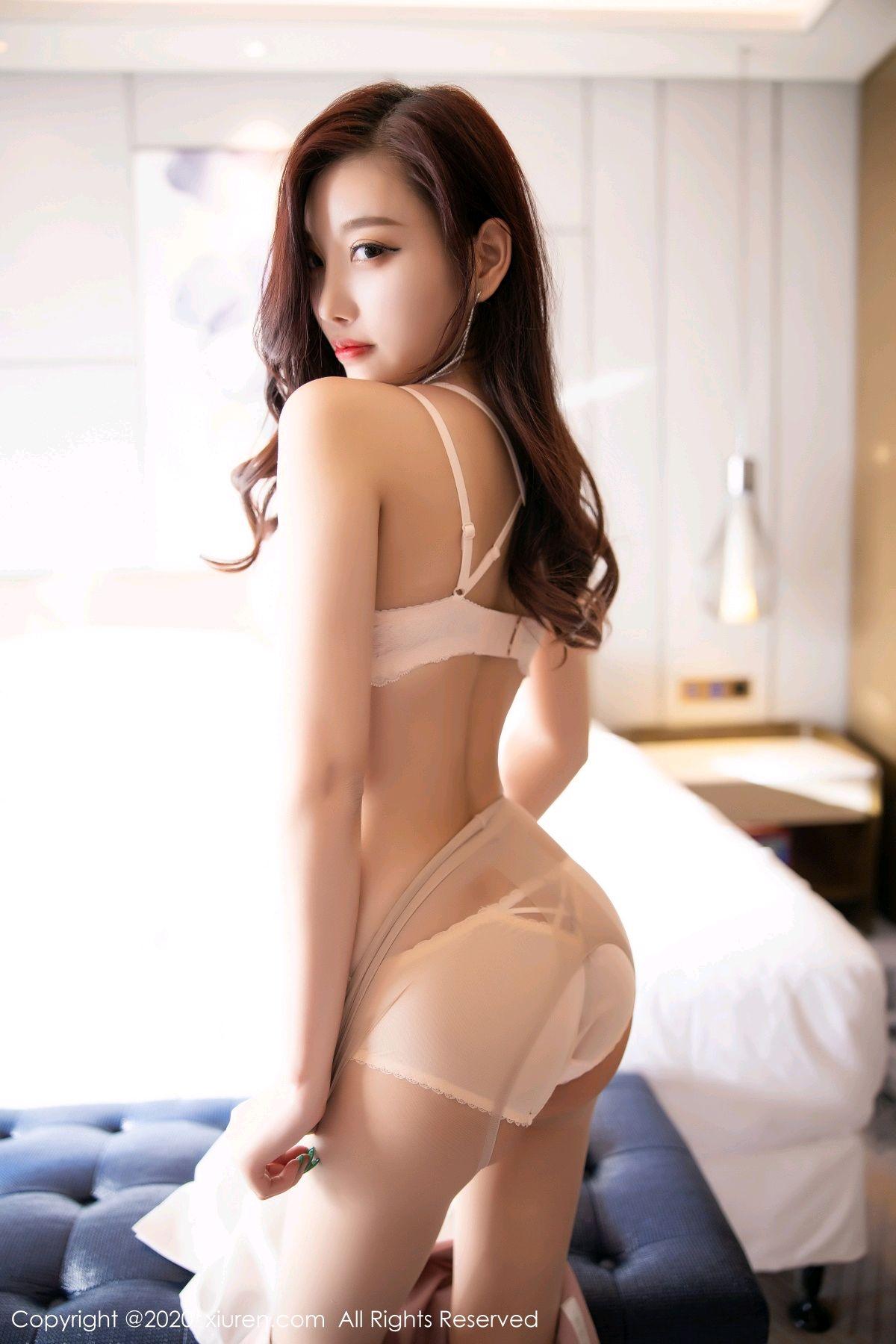 [XiuRen] Vol.2431 Yang Chen Chen 62P, Tall, Underwear, Uniform, Xiuren, Yang Chen Chen