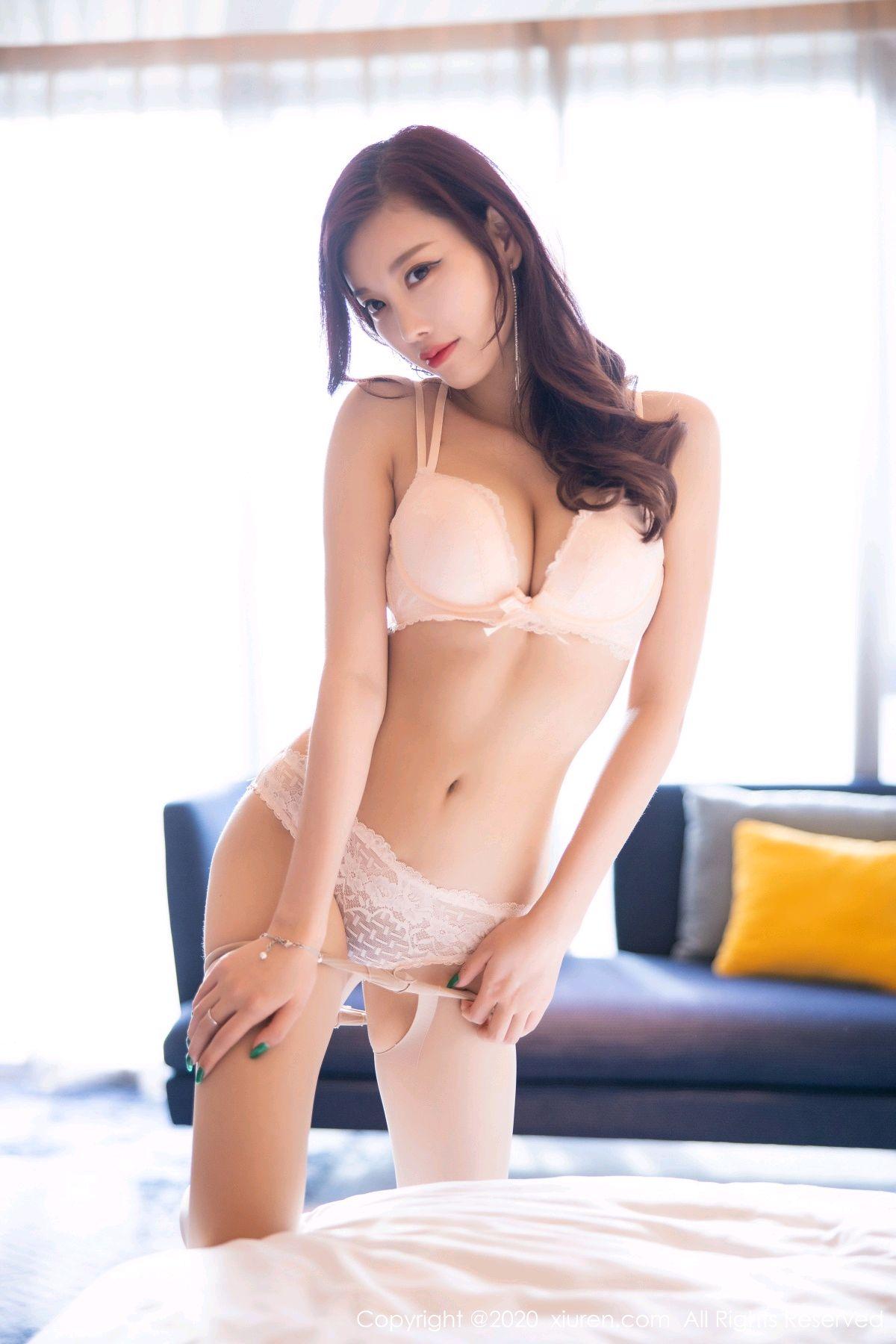 [XiuRen] Vol.2431 Yang Chen Chen 66P, Tall, Underwear, Uniform, Xiuren, Yang Chen Chen