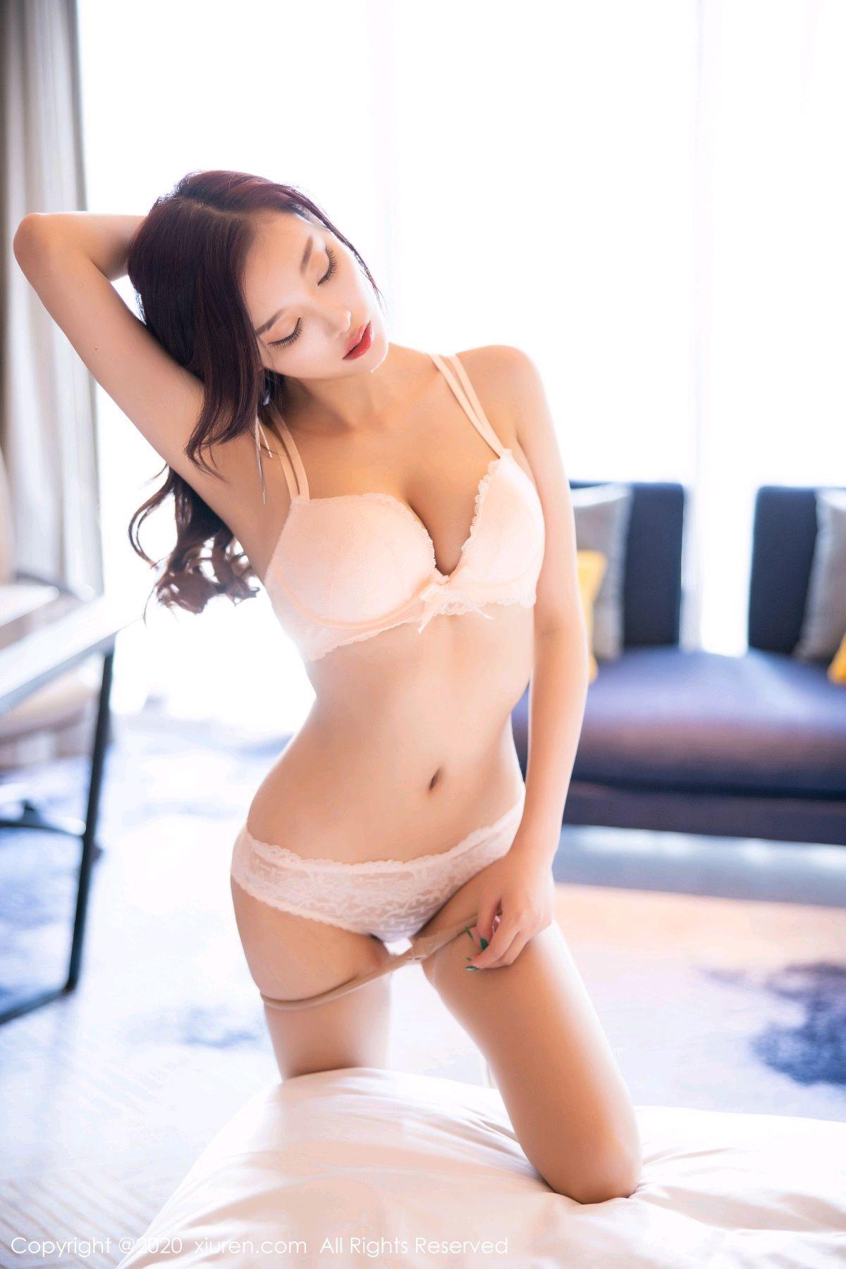 [XiuRen] Vol.2431 Yang Chen Chen 68P, Tall, Underwear, Uniform, Xiuren, Yang Chen Chen