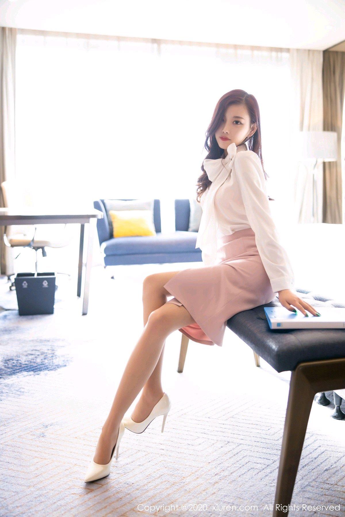 [XiuRen] Vol.2431 Yang Chen Chen 6P, Tall, Underwear, Uniform, Xiuren, Yang Chen Chen