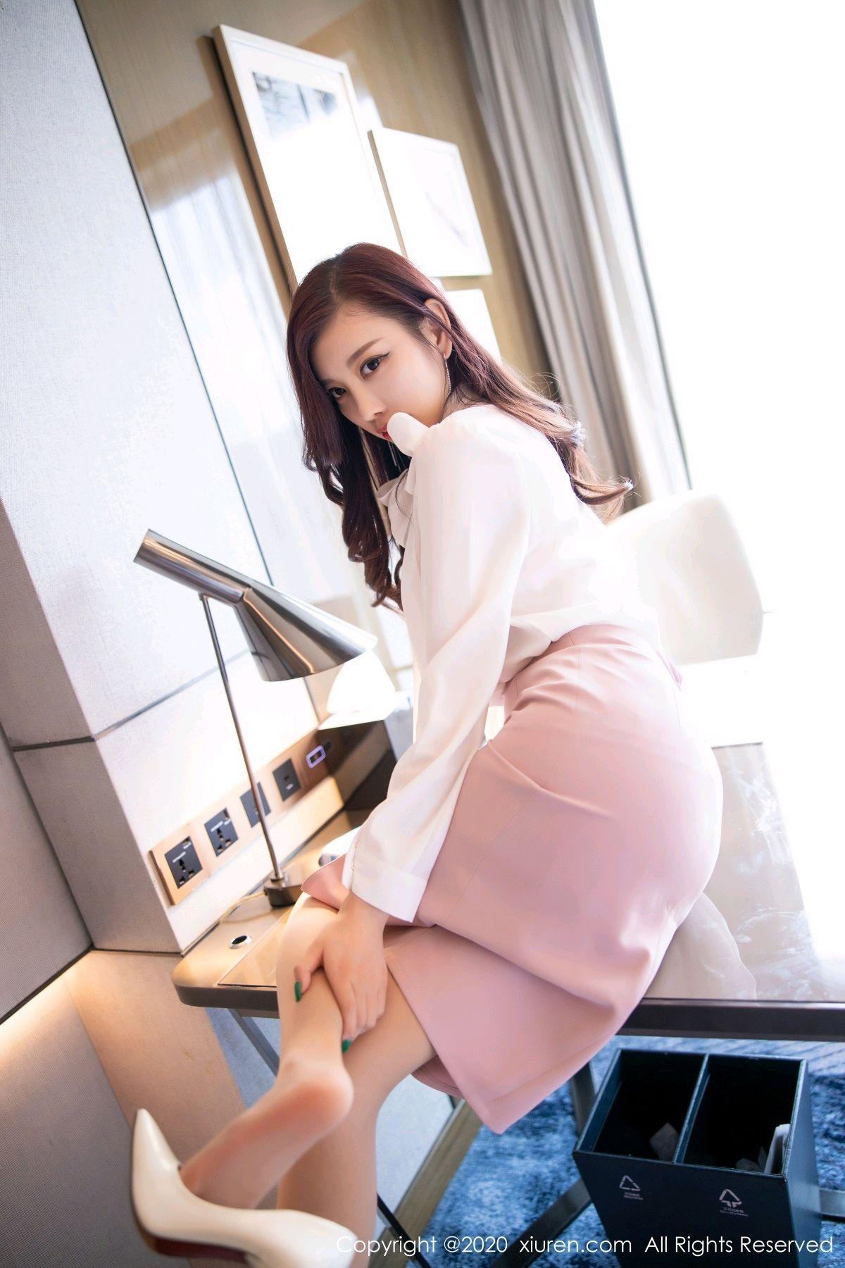 [XiuRen] Vol.2431 Yang Chen Chen 78P, Tall, Underwear, Uniform, Xiuren, Yang Chen Chen